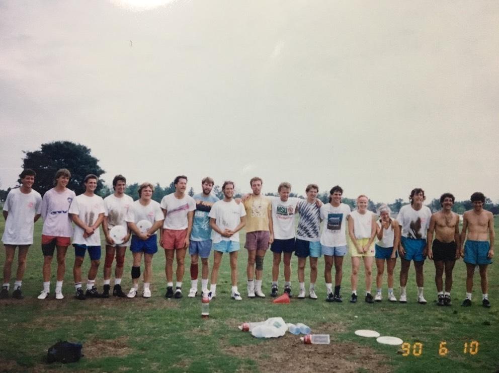 1990年 Japan Friendship Tourの様子