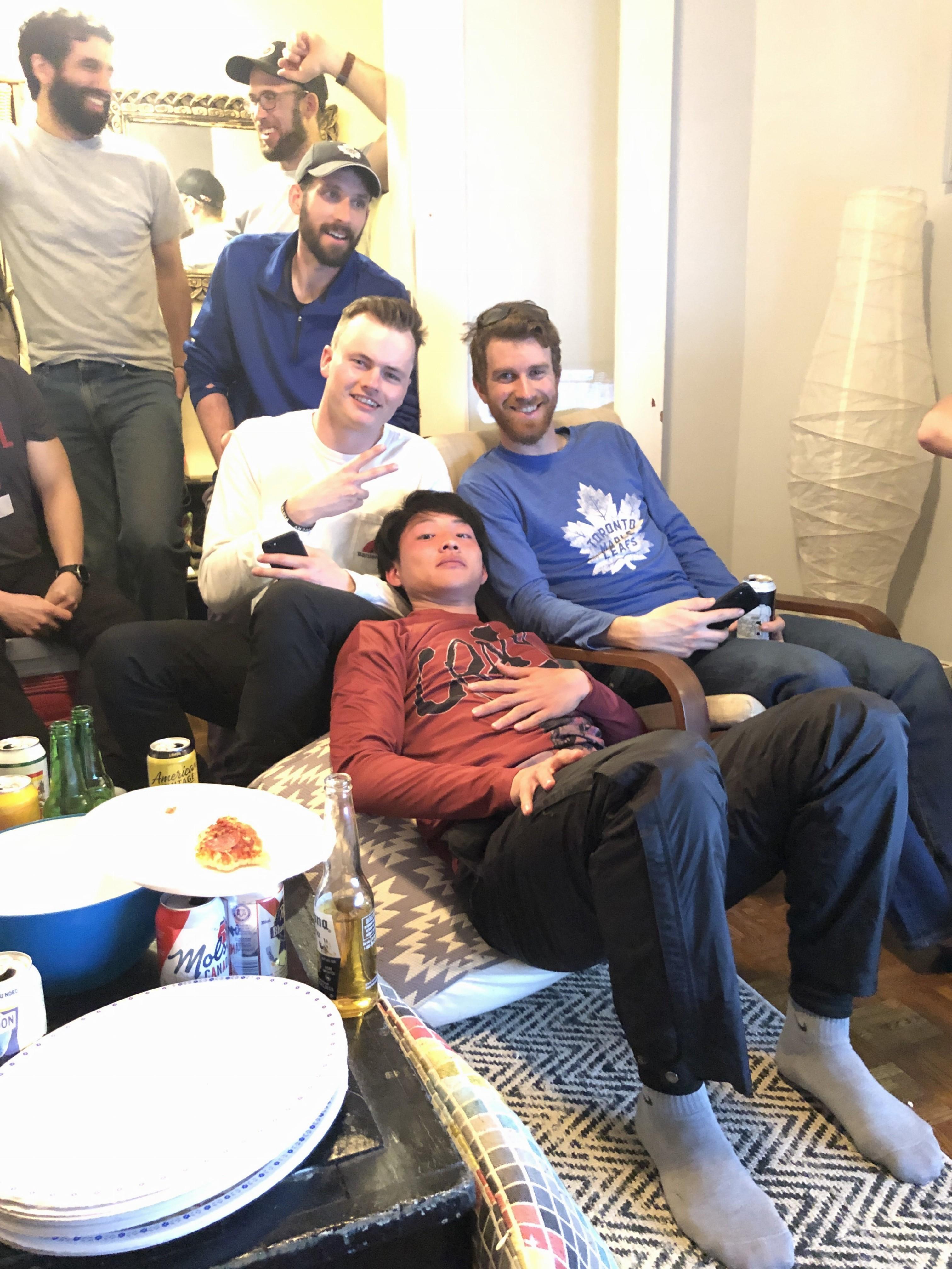Toronto Rush のホームパーティの様子