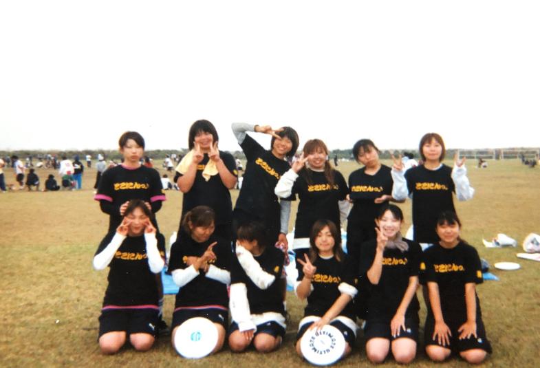 当時人数不足のチームと合同で出場した時の写真